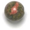 Semi-Precious 10mm Round Unakite